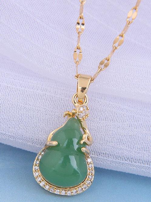 Calabash Jade Necklace