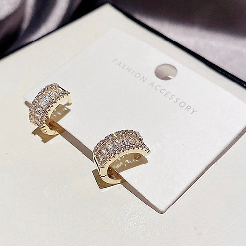 Baguette Embellished Earrings