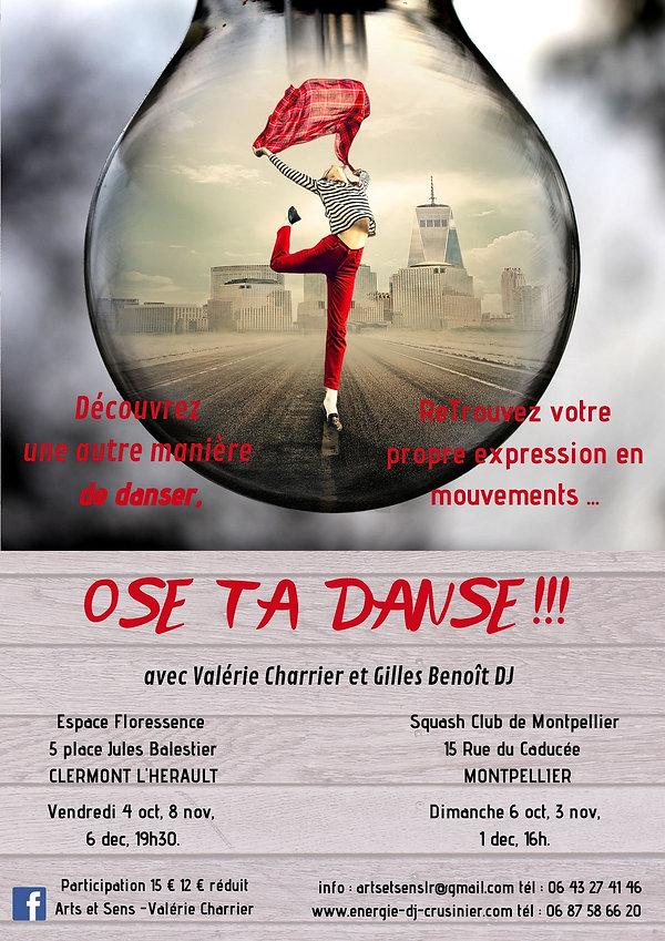 affiche Ose Ta Danse V et G.jpg