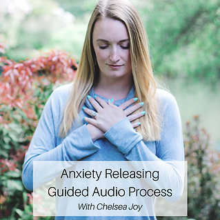 Anxiety Releasing Guided Audio Process .