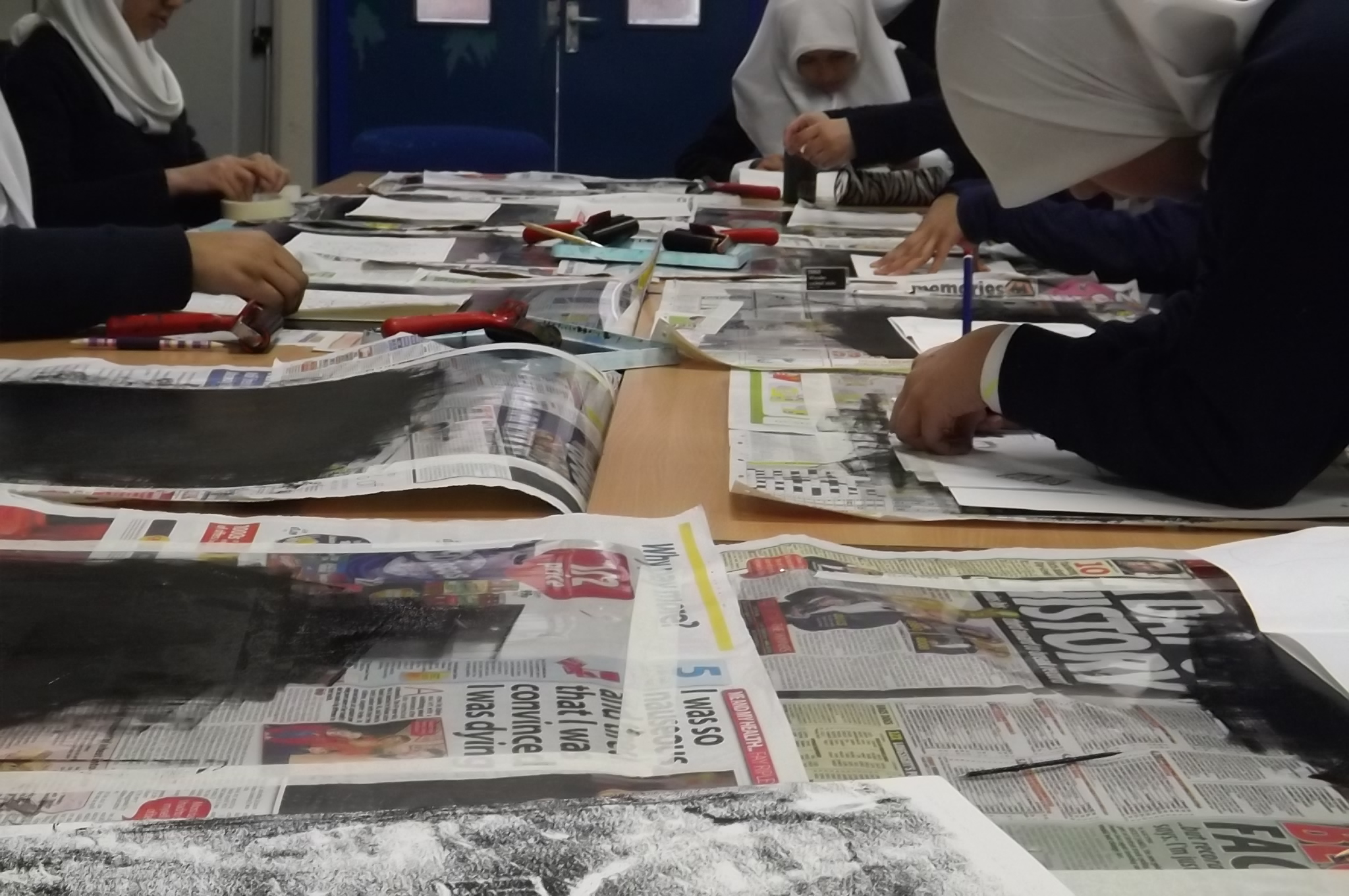 al-hijrah print workshop- may 2013
