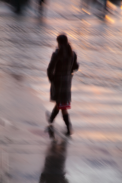 Girl, Crossing