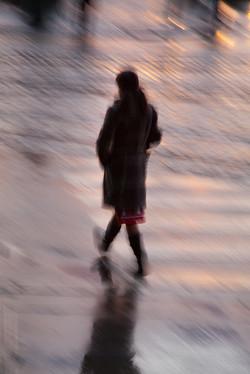 Girl, Crossing