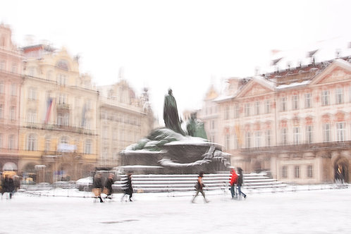 Old Town Square - Jan Hus Statue
