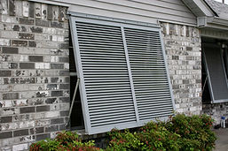 New Orleans Storm Shutters, New Orleans Kevlar Fabric Storm Shutters