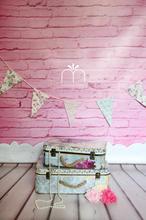 Pink Brick Backdrop