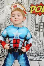 Superhero Comic Book City Backdrop