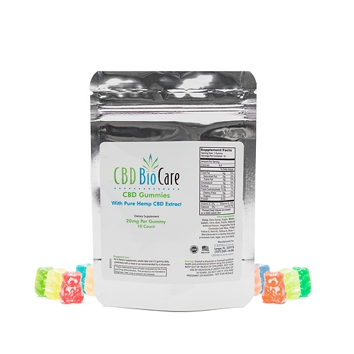 CBD GUMMIES 20MG  PACK
