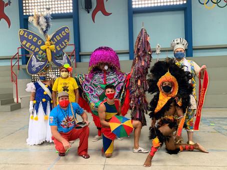 Comemorando o Carnaval!