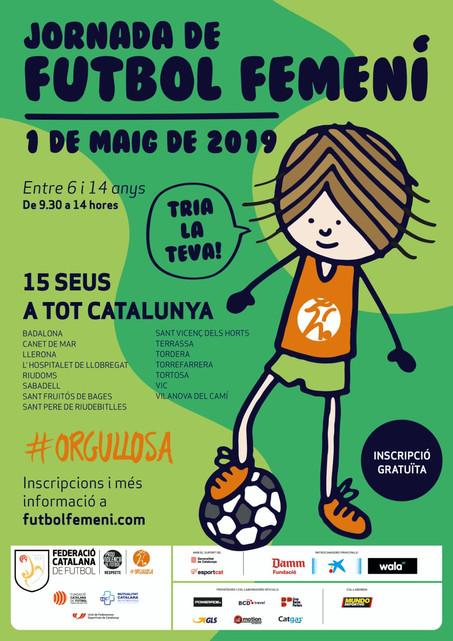 El Camp Municipal de futbol acollirà l'1 de maig la jornada de futbol femení del Maresme