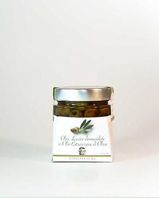 Olive Leccine denocciolate in olio low.j