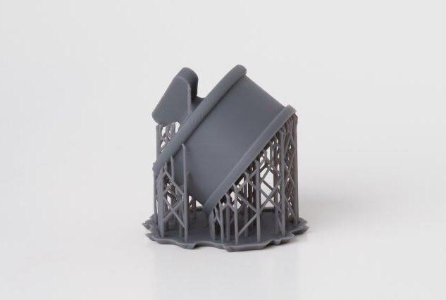 3D Print Grey Resin