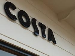 costa coffee cream and black