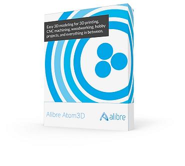 Alibre Atom3D with EZ Mill Express or EZ Turn Express