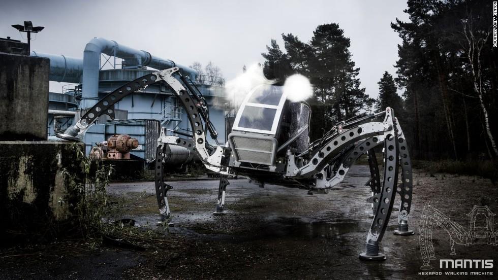 mantis robot horizontal