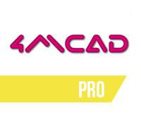 4MCAD PRO - Download Version: 4MCAD Standard + 3D Solids + VBA support + Library