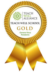 Teach Well School Pandemic Gold Award Lo