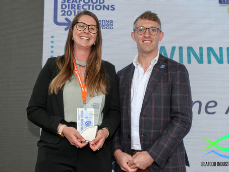 Local Young Achiever wins National Seafood Award
