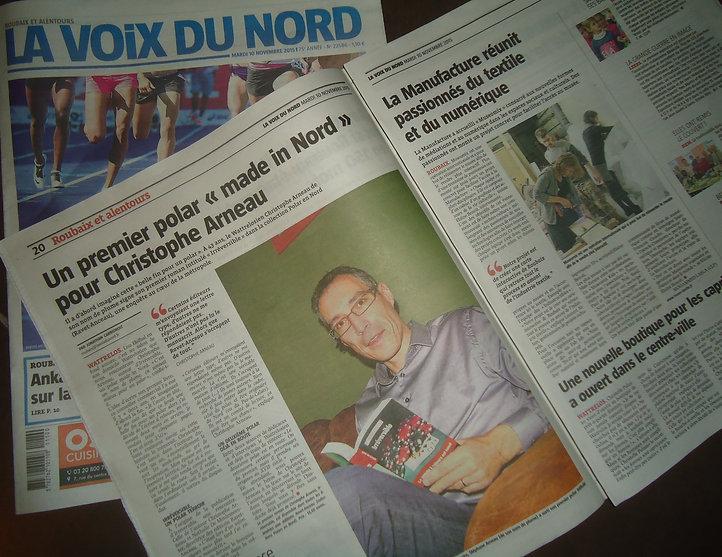 Christophe Arneau La Voixdu Nord