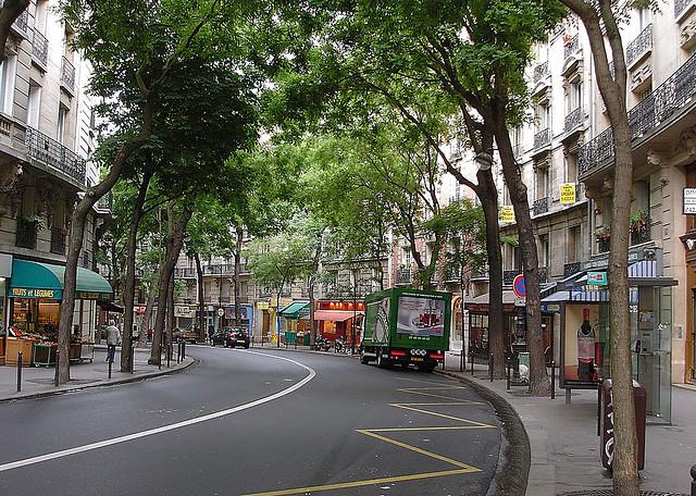 Rue Caulaincourt à Paris