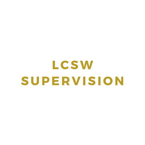 LCSW Supervision