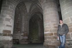 La crypte des gros piliers