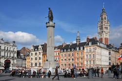 La grand'place de Lille