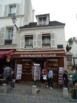 Une boutique typique de Montmatre