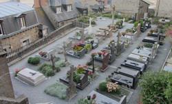 Le cimetière du Mont-Saint-Michel