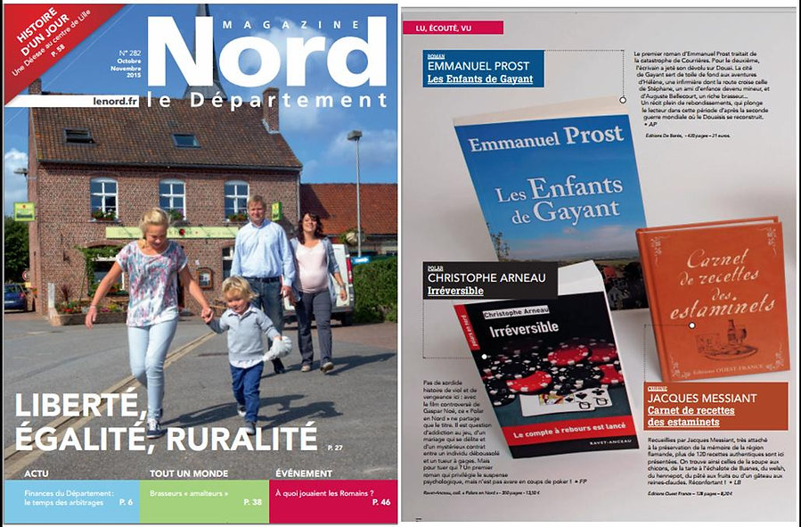 Christophe Arneau magazine le Nord