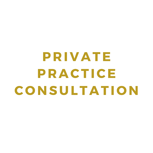Private Practice Consultation