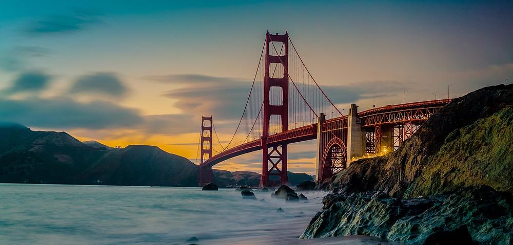 Golden Gate Bridge - Contenza Properties San Francisco Bay Area