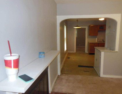 Entry Way to The Kitchen
