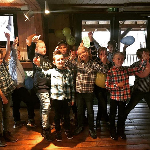Barnebursdag i Pub'en