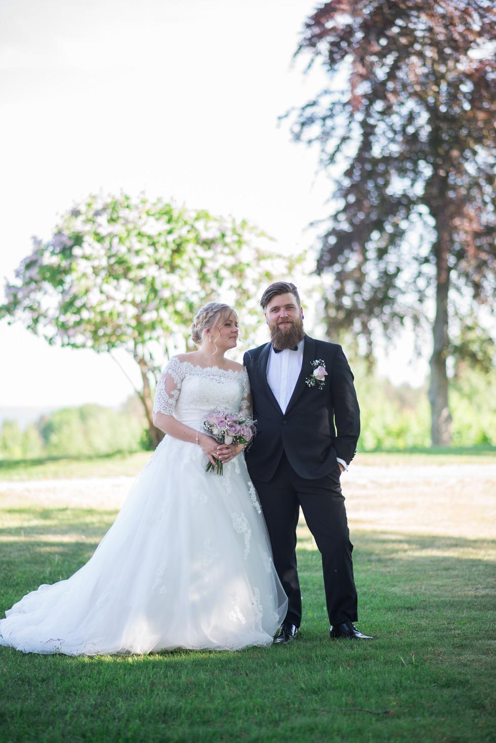 Endelig gift, foto: privat