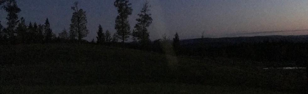 Magisk sted å være om kvelden og natten