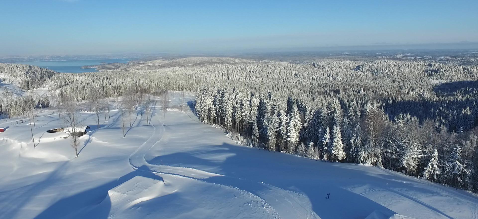 Vinter på Bjørnåsen, foto Bjørn Heidenstrøm