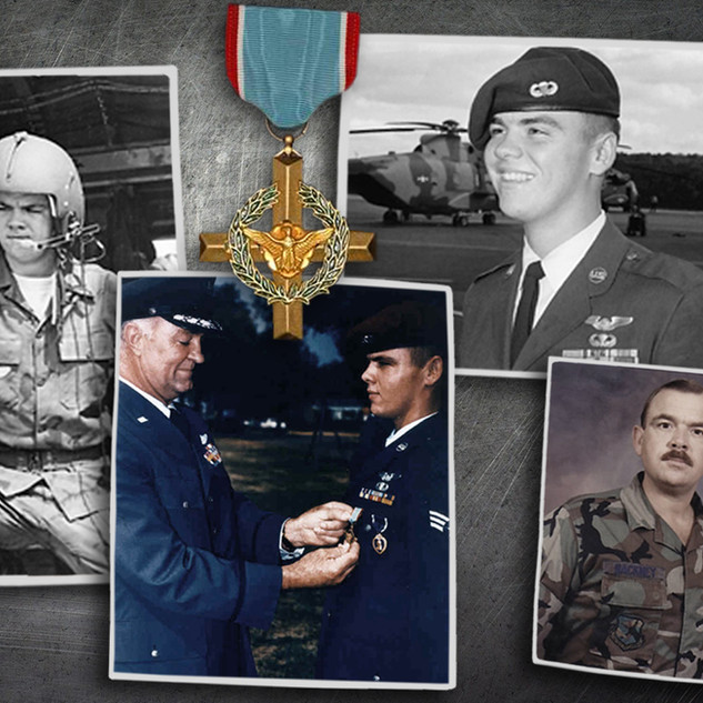 This Air Force Cross Recipient Narrowly Escaped Death After Parachuting From An Exploding Helicopter in Vietnam