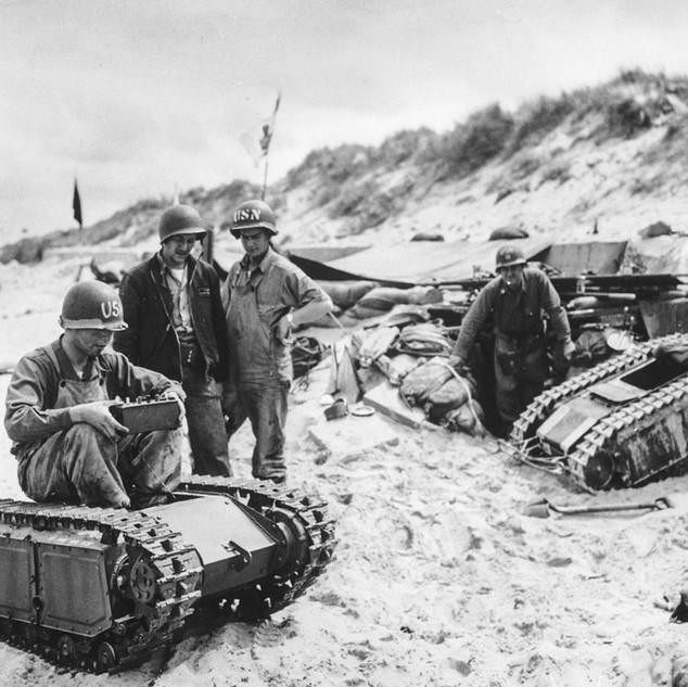 WATCH: US Troops Captured Nazi Drone Tanks and Rode Them Like Toys