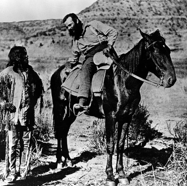 John Wesley Powell's Geographic Expedition of 1869: The Discovery of the Grand Canyon