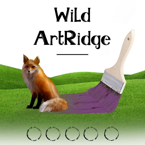 Wild ArtRidge Academy Virtual Class PUNCH CARD