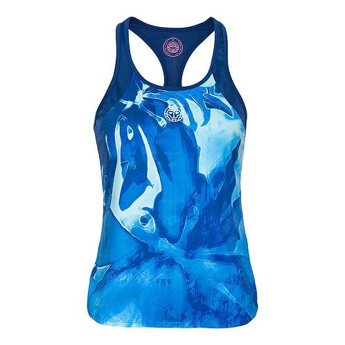 Top design bleu
