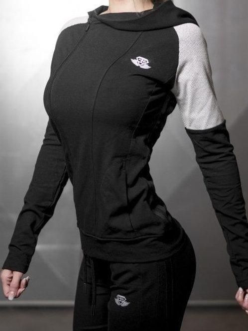 Veste gris/noir