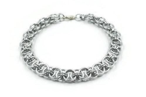 Helm Chain Bracelet, Aluminum ($20-$23)