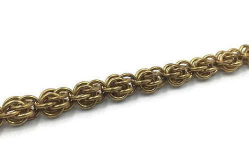 Sweetpea Bracelet, Brass ($16-$19)