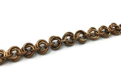 Flower Bracelet, Bronze ($13-$16)