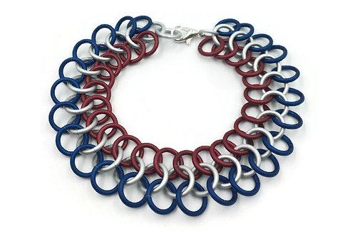 Classic European Bracelet, Patriotic ($11-$14)