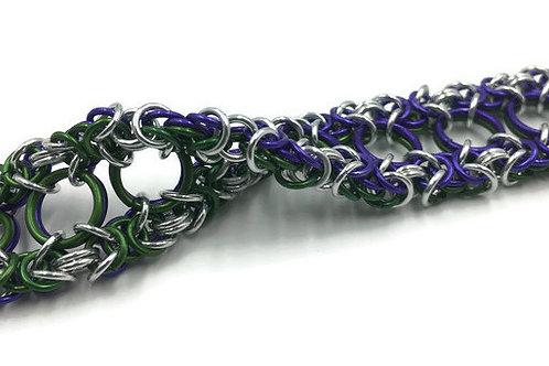 Dual Byzantine Bracelet, Reversible 1 ($37-$40)