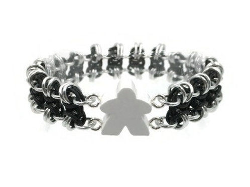 Stretchy Meeple Bracelet