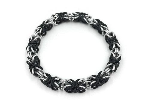 Stretchy Byzantine Bracelet, Solid